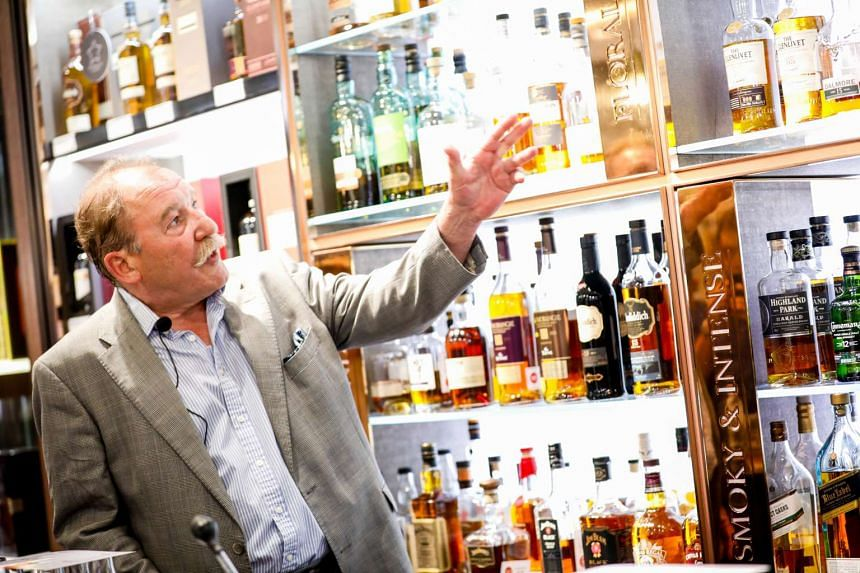 Charles MacLean is the official ambassador for the DFS Whiskey Festival.