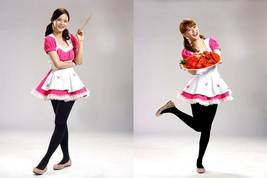 Twins Hayley (left) and Jayley Woo will play the role of the bubbly Cutie Chef.