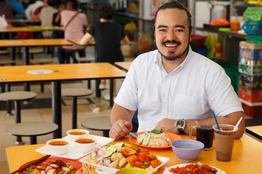 Adam Liaw explores Singapore's culinary melting pot for the series.
