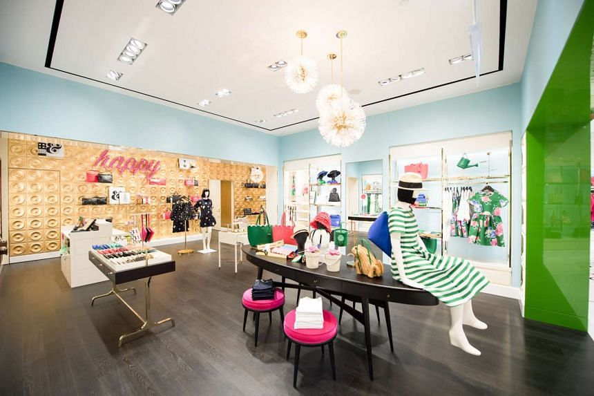 A Kate Spade New York boutique in Singapore at Marina Bay Sands.
