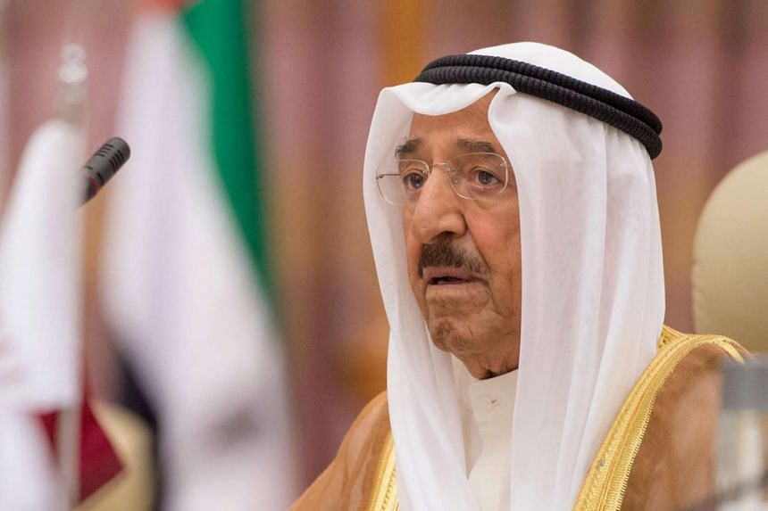 The Emir of Kuwait, Sheikh Sabah al-Ahmad al-Sabah (pictured), will be heading to Qatar for talks to resolve a diplomatic crisis.