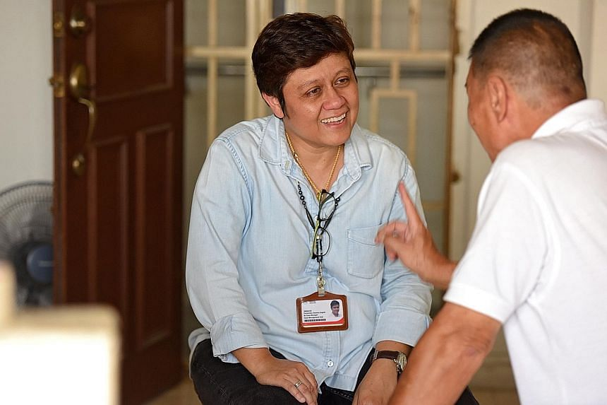 Ms Gemma Angela Fernandez finds joy in helping patients re-integrate into the community.