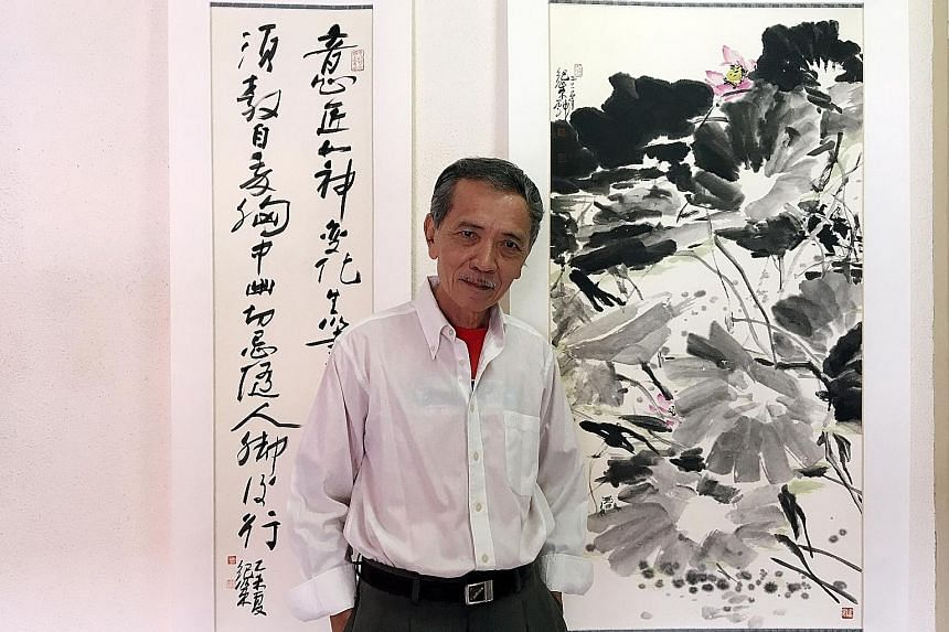 Chinese ink artist Tan Kee Sek will open his solo exhibition, which celebrates 50 years of his practice, at Ion Gallery in Ion Orchard.