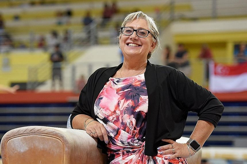 Singapore Gymnastics' (SG) new general manager Karen Norden is eager to use her wealth of experience, expertise and her international network to groom SG's young managers and boost its technical capabilities. She is tasked with overseeing the develop