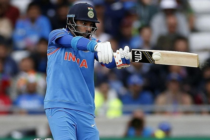 India's Yuvraj Singh tormented Pakistan's bowlers with 53 off 32 balls as his side romped to a 124-run win over their arch-rivals. India will next play Sri Lanka in Group B of the ICC Champions Trophy tournament.