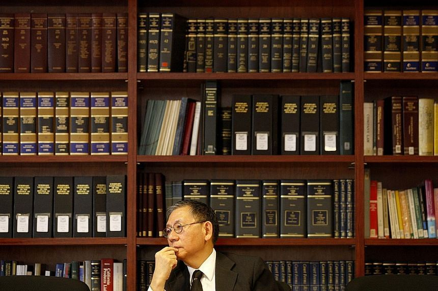 Senior counsel Michael Hwang brought the case over a relatively paltry sum of $1,400 all the way to the Court of Appeal in 1973 and won.