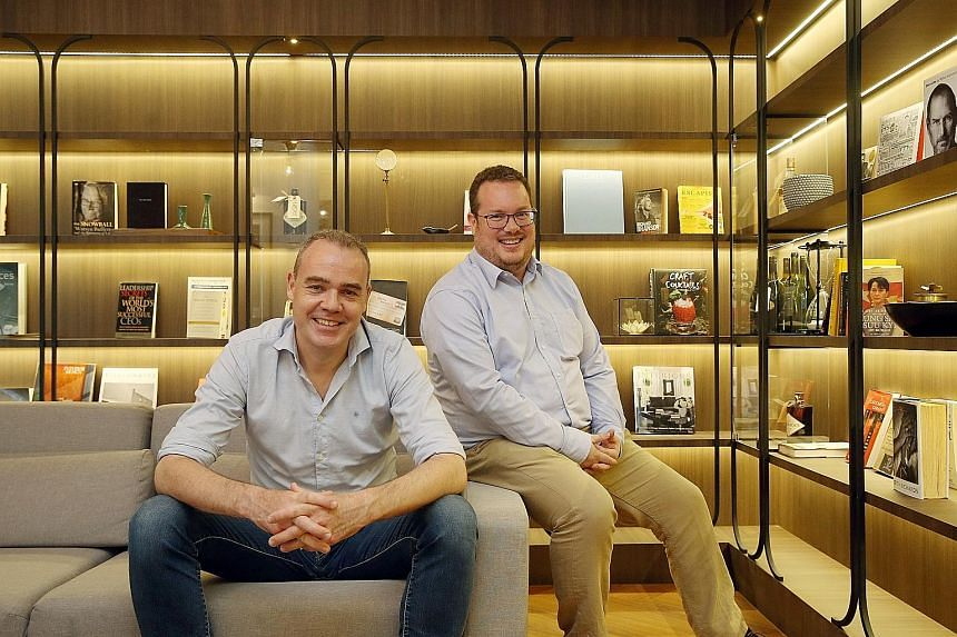 Veteran angel investors Will Klippgen (left) and Michael Blakey met through Singapore's first start-up accelerator JFDI. Realising that they have a very similar approach to investing - investing in very few companies, working very closely with them a
