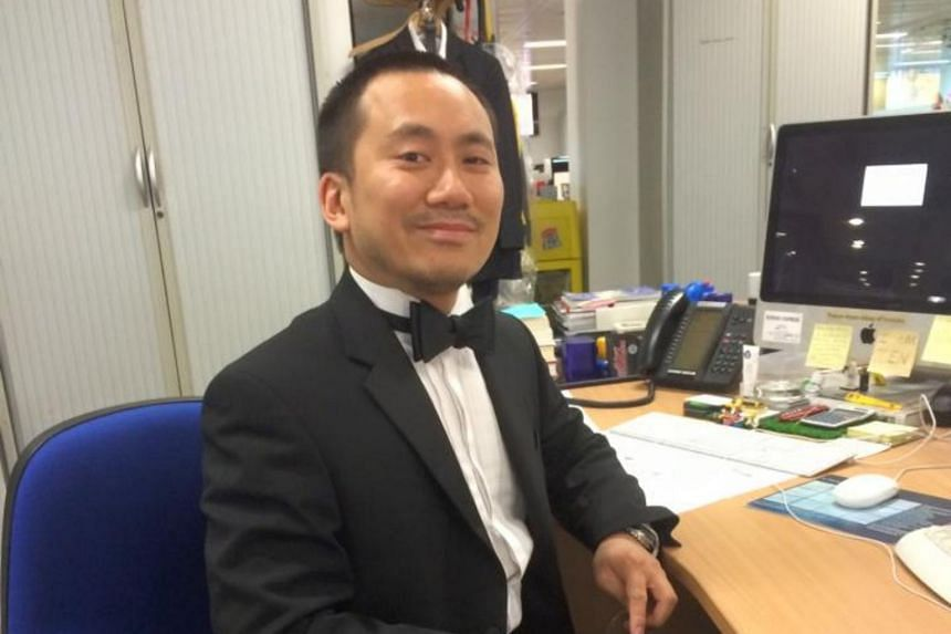 Chinese journalist Geoff Ho was sent to intensive care after being stabbed in the throat by the terrorists during his act of heroism.