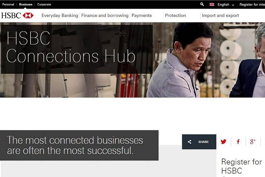 The HSBC Connections Hub is designed to enable the bank's clients to use HSBC's global network to connect with trusted buyers and sellers around the world.