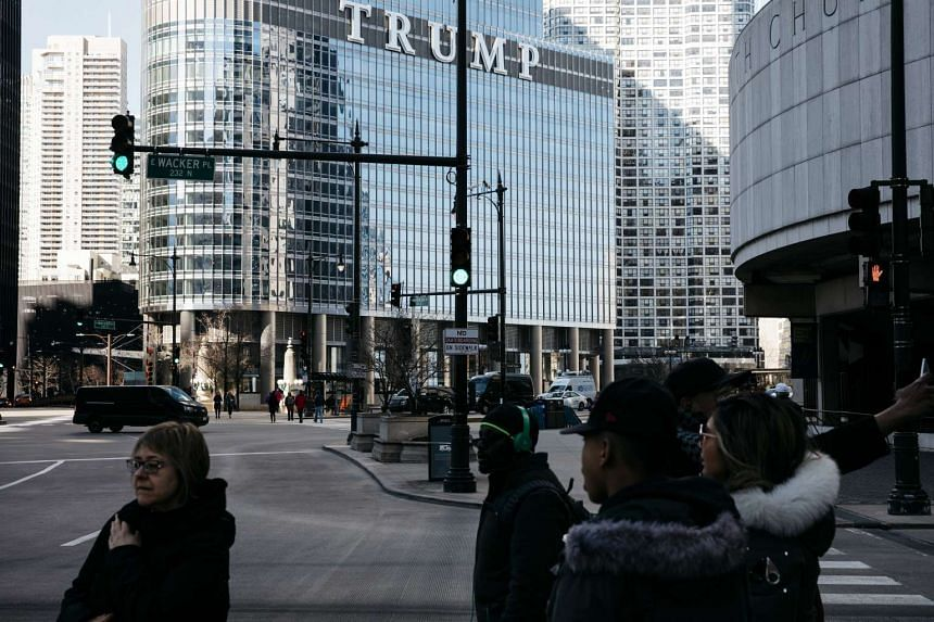 Trump International Hotel and Tower in Chicago, on March 10, 2017.