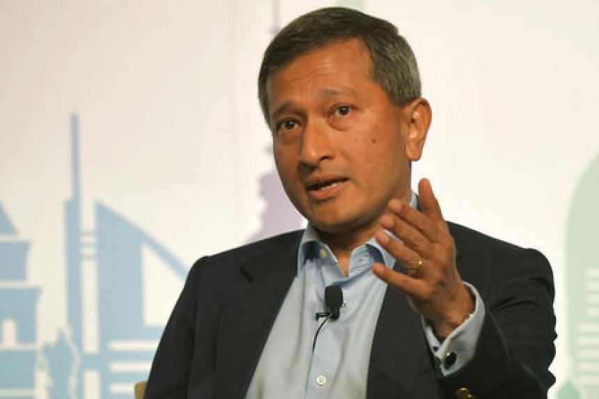 Foreign Minister Vivian Balakrishnan made a strong pitch for free trade at the American Jewish Council's annual Global Conference on Monday (June 5).