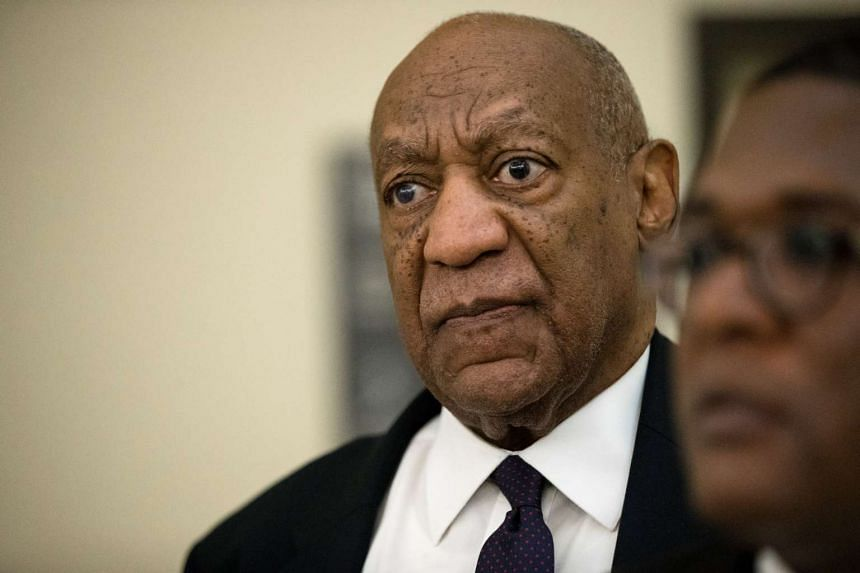 Cosby returns to the courtroom during a break on the second day of his sexual assault trial.
