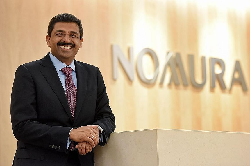 Mr Vikas Sharma, who is based in Singapore and Hong Kong, will oversee Nomura's wholesale business, which consists of its global markets and investment banking divisions.