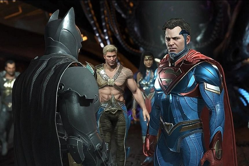 In Injustice2, the story continues with Batman attempting to restore order after Superman is imprisoned.