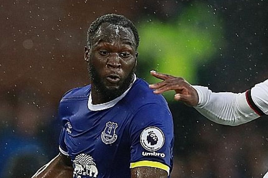 Romelu Lukaku scored 25 Premier League goals last season for Everton.