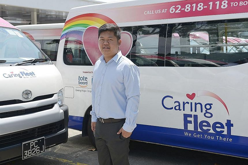 Mr Loh Yuan Han plans to improve the company's on-demand booking service, such that a vehicle is available within a few hours, as compared with the current waiting time of one to three days.