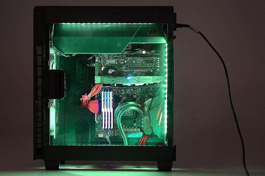 Decking out the PC chassis in dazzling RGB LEDs will cost more but the LEDS have become the trend among PC enthusiasts now.