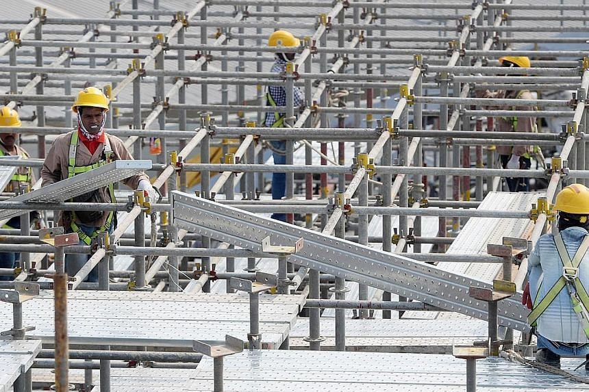 There was one death on construction sites in the first five months of this year, compared with an average of six deaths per quarter last year