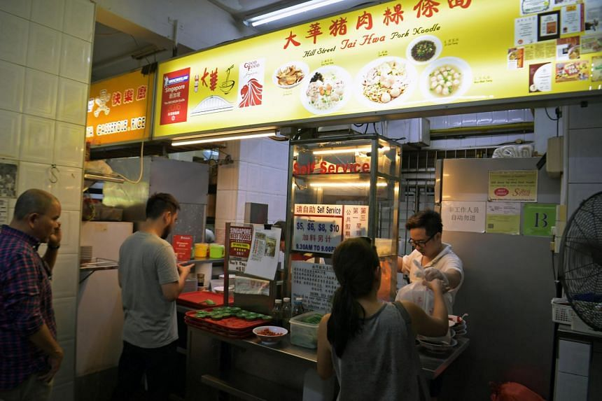 The one-Michelin-starred Hill Street Tai Wah Pork Noodle stall in Crawford Lane is No. 1 in the Top 50 World Street Food Masters list.
