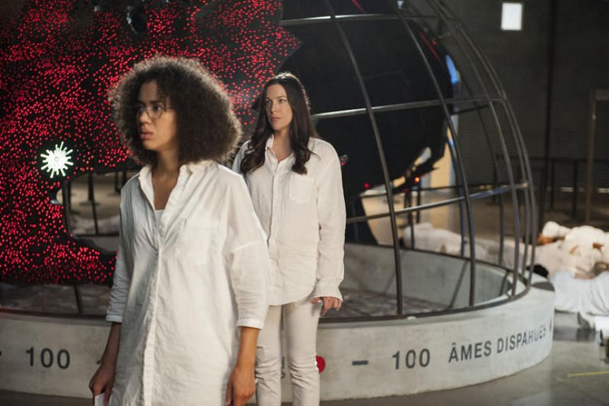 Liv Tyler (right) and Jasmin Savoy Brown star in the third and final season of HBO series The Leftovers.