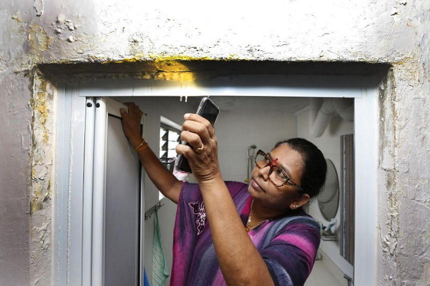A leak coming from the toilet ceiling of their master bedroom has caused Mr S. Gunasekaran and his wife much frustration. The leak started in 2008 and would cause the wall to be waterlogged and grow mould.