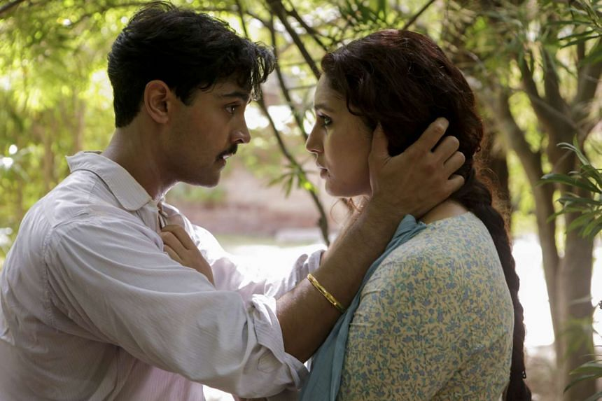 Actors Manish Dayal and Huma Qureshi (both above) play lovers in Viceroy's House.