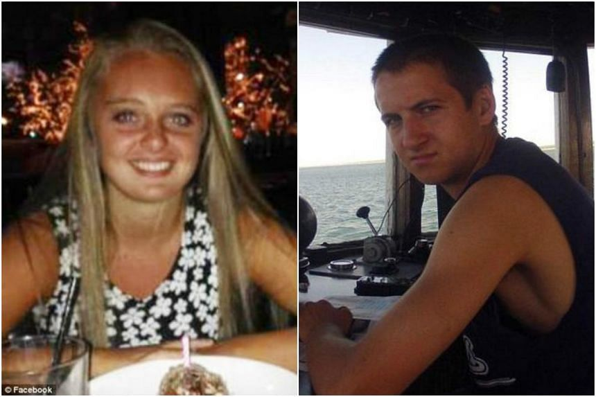 Prosecutors say Michelle Carter (left) is to blame for driving her boyfriend Conrad Roy to suicide via an exchange of text messages.
