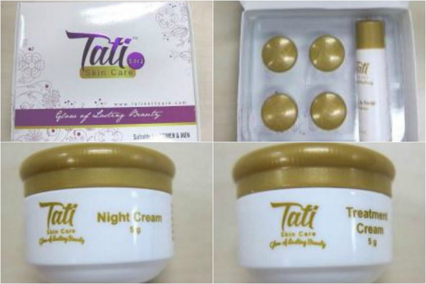 The Tati Skin Care 5 in 1 set has been found to contain several toxic and prohibited ingredients by the Health Sciences Authority.