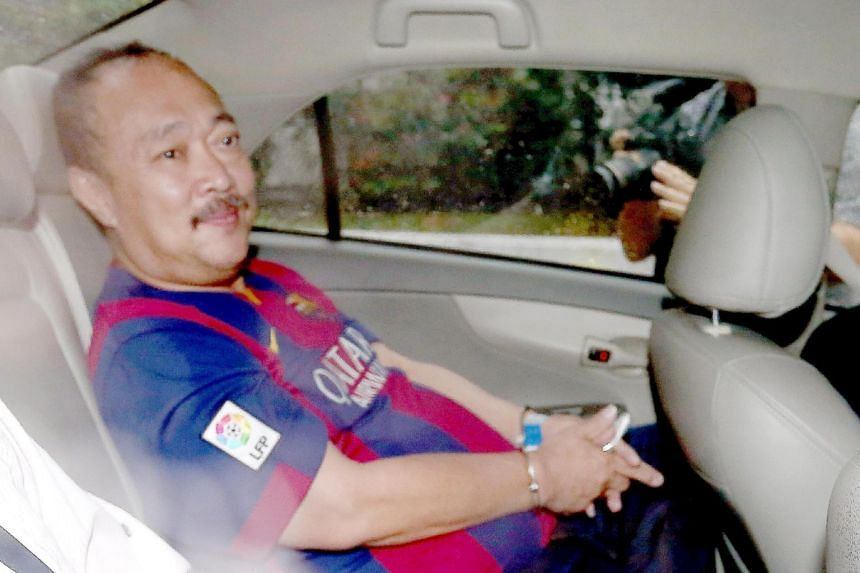 Toh Hock Thiam was jailed for seven years and four months for his role in a counterfeit casino chip scam.
