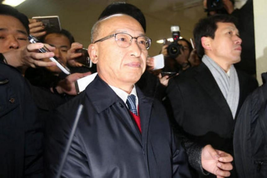 Former South Korean minister of health and welfare Moon Hyung Pyo had been indicted and arrested last December.