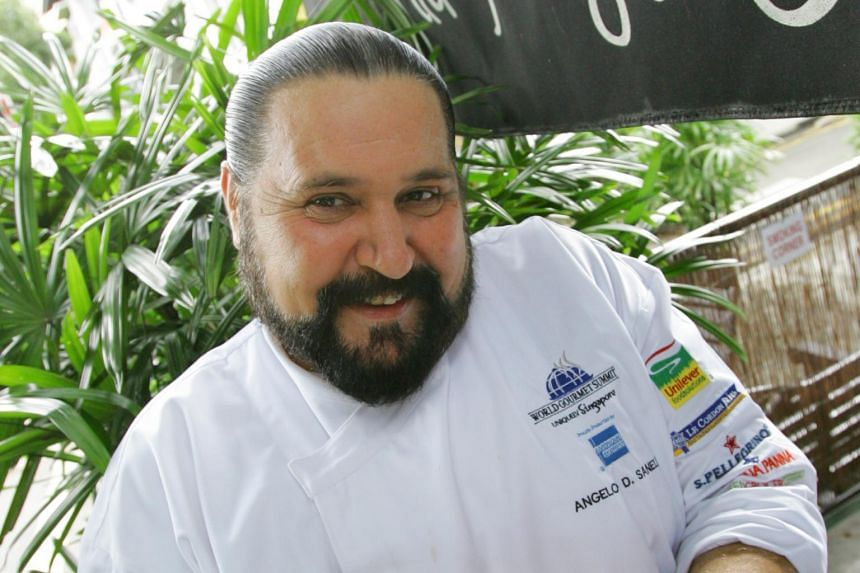 Chef Angelo Sanelli of Michelangelo's restaurant group was a house painter, interior decorator and an office cleaner before he became a full-time professional cook at the age of 30.