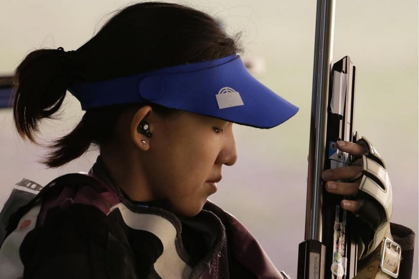 National shooter Jasmine Ser at the 2016 Olympic Games in Rio de Janeiro. Her bronze on Thursday (June 8) night in Gabala, Azerbaijan is her third World Cup medal.