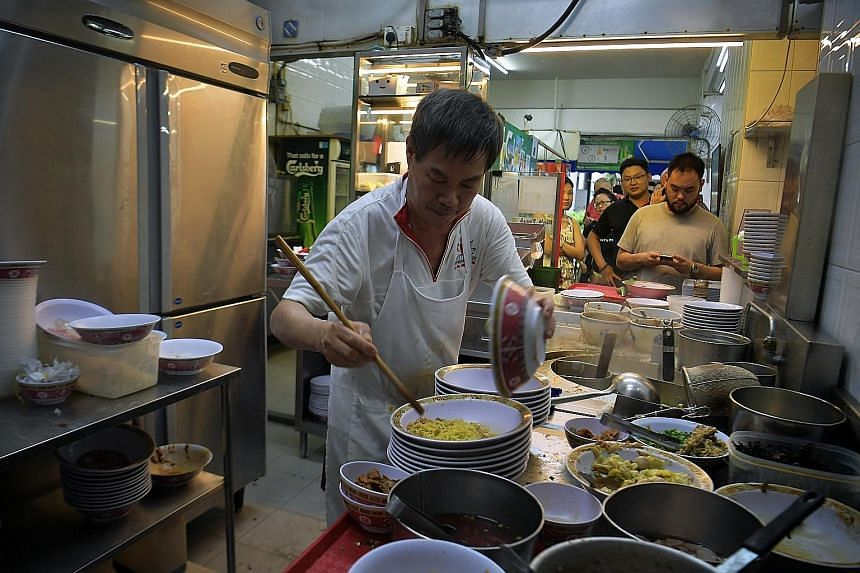 One-Michelin- starred Hill Street Tai Hwa Pork Noodle stall in Crawford Lane has emerged first in the Top 50 World Street Food Masters list.