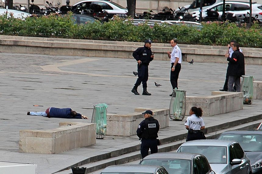 The 40-year-old attacker was shot and wounded by police on Tuesday, after lunging at an officer with a hammer in front of Notre-Dame Cathedral in Paris. Documents found on the attacker identified him as an Algerian student doing a doctorate on the me
