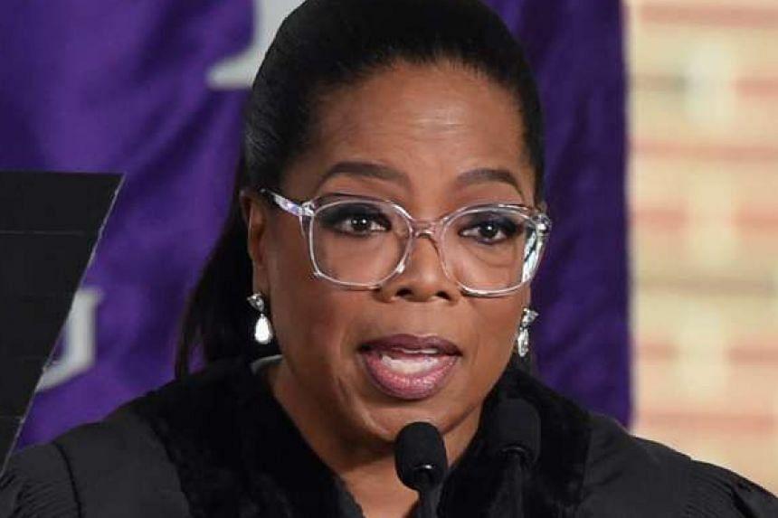 Talk-show host Oprah Winfrey