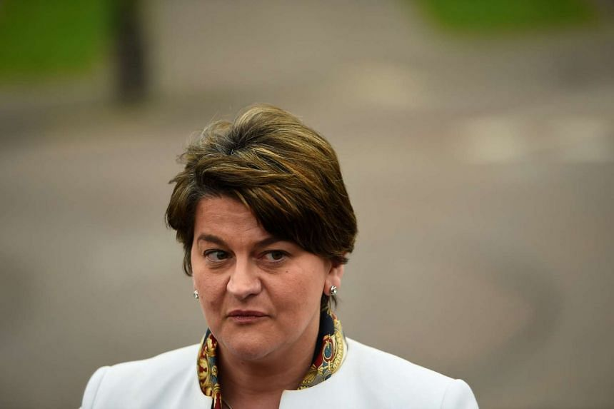 DUP leader Arlene Foster made it clear that no deal has been reached between her and British Prime Minister Theresa May.