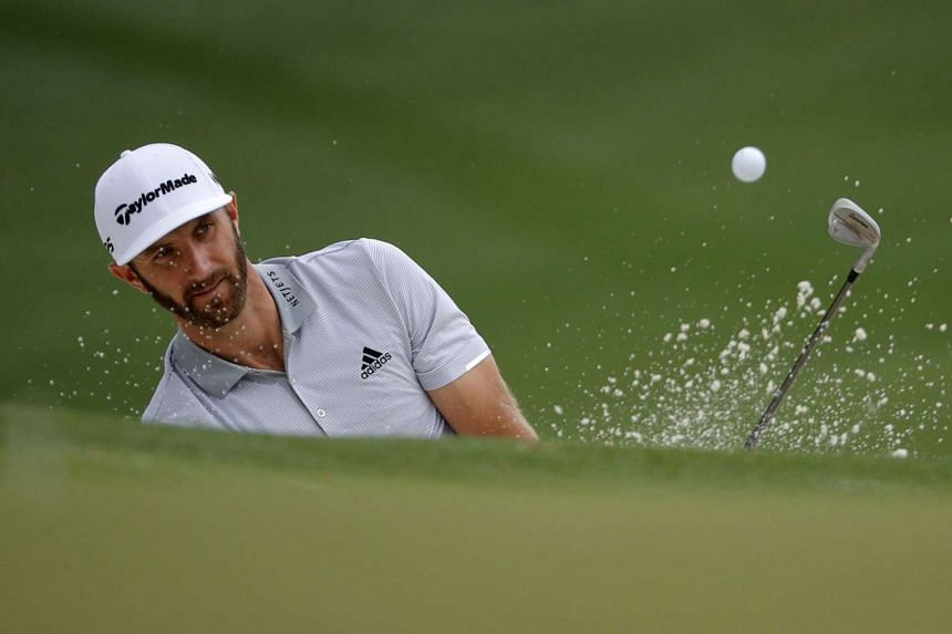 Dustin Johnson (above) suffered a one-stroke penalty in the final round in 2016.