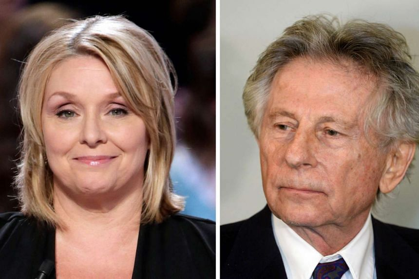 Polanski (right) is accused of drugging Geimer (left) when she was 13 before raping her in 1977.