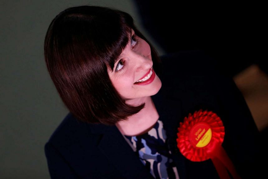Labour's Bridget Phillipson smiles after being announced as the winner in Houghton and Sunderland South.