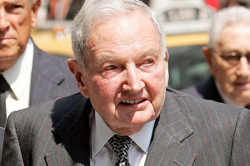 Philanthropist David Rockefeller contributed almost $2 billion to various causes during his lifetime.