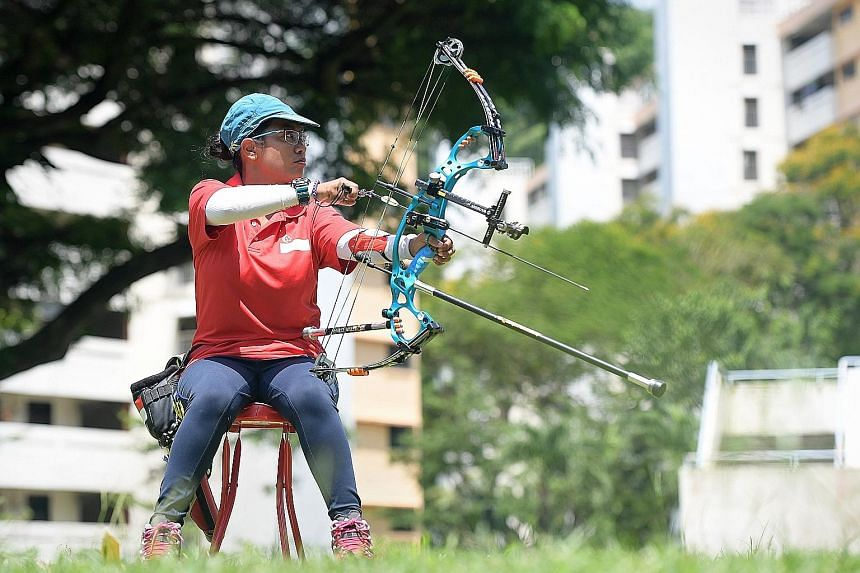 Cerebral palsy sufferer Syahidah Alim hoped to compete against able-bodied athletes at the SEA Games in Kuala Lumpur. World Archery said para-athletes are eligible to compete, despite the SEA Games Federation (SEAGF) rejecting a request by the Singap