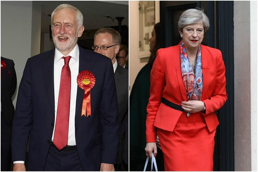 Labour Party leader Jeremy Corbyn enjoyed a successful election campaign, but PM Theresa May's Conservatives did not fare so well.