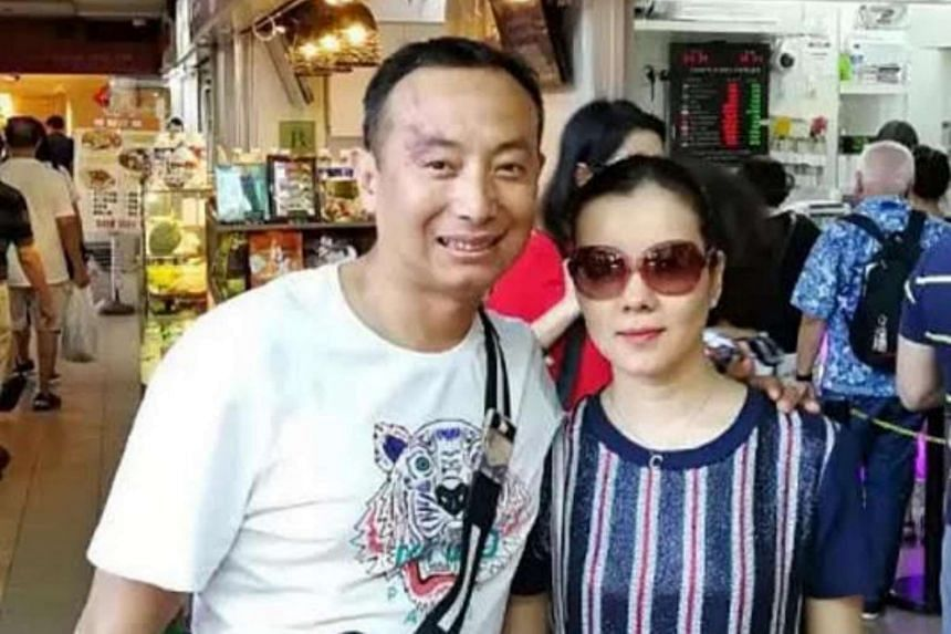 An honest couple from China returned an extra $13,400 a money changer at Chinatown had given them.