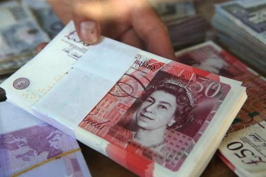 The pound dived after an exit poll showed Britain's incumbent Conservative Party had unexpectedly lost its majority in Thursday's election.