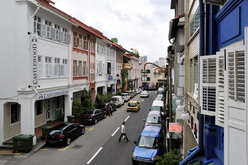 The direction of vehicular traffic along Ann Siang Hill from South Bridge Road to Club Street will be reversed on June 14, from 5 am to 12 pm.