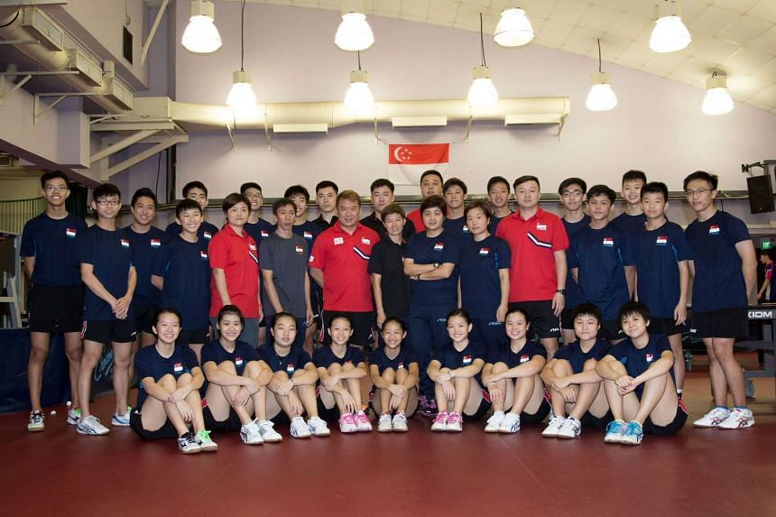 The Singapore junior boys' and girls' teams will be in action in the South-east Asian Junior & Cadet Table Tennis Championships at Toa Payoh Sports Hall from June 12 to June 16.