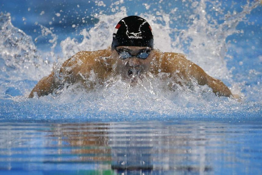 Joseph Schooling won the 50m event at the second stop of the Texas Senior Circuit.