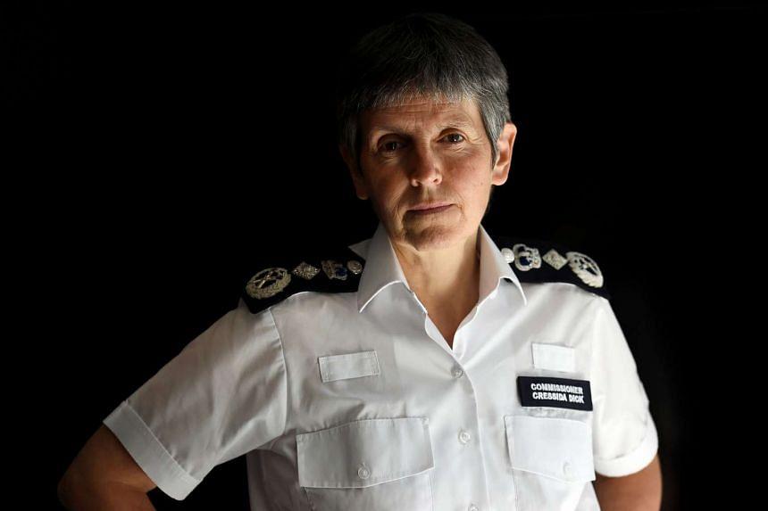 Metropolitan Police Commissioner Cressida Dick is interviewed by Reuters, Britain June 10, 2017.
