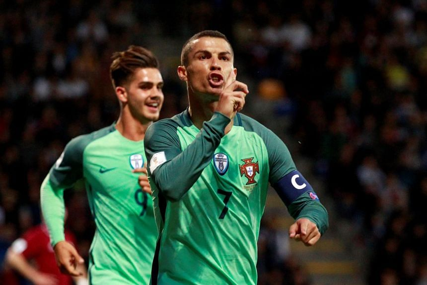 Portugal's captain Cristiano Ronaldo churned out yet another stellar performance to lead Portugal to a 3-0 over Latvia.