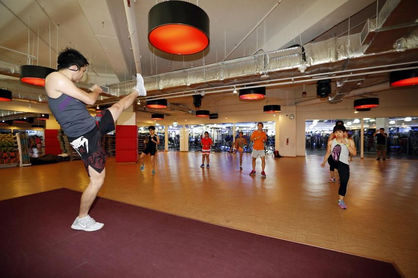 The BodyCombat class taking place at True Fitness is one of the fringe activities leading up to the July 16 ST Run.